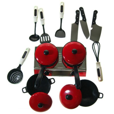 Kaka No. 2586 Stimulation Fun Cooking Tool Toy for Kid 13Pcs / SetOther Educational Toys<br>Kaka No. 2586 Stimulation Fun Cooking Tool Toy for Kid 13Pcs / Set<br><br>Product Model: Kaka<br>Type: Intelligence toys<br>Age: 3 Years+<br>Material: ABS<br>Design Style: Kitchenware<br>Features: Educational<br>Puzzle Style: Common<br>Small Parts : Yes<br>Washing: No<br>Applicable gender: Girls<br>Package weight: 0.520 kg<br>Package size (L x W x H): 35.00 x 20.00 x 10.00 cm / 13.78 x 7.87 x 3.94 inches<br>Package Contents: 13 x Kitchenware Toy