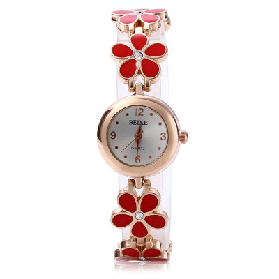 Women Quartz Watch Pentalobe Crystal Stainless Steel BandWomens Watches<br>Women Quartz Watch Pentalobe Crystal Stainless Steel Band<br><br>Watches categories: Female table<br>Style: Fashion&amp;Casual<br>Movement type: Quartz watch<br>Shape of the dial: Round<br>Display type: Analog<br>Case material: Stainless Steel<br>Case color: Gold<br>Band material: Stainless Steel<br>Clasp type: Buckle<br>Water resistance : 30 meters<br>The dial thickness: 0.7 cm / 0.28 inches<br>The dial diameter: 2.5 cm / 0.98 inches<br>The band width: 1 cm / 0.39 inches<br>Product weight: 0.030KG<br>Package weight: 0.070 KG<br>Product size (L x W x H): 20.00 x 2.50 x 0.70 cm / 7.87 x 0.98 x 0.28 inches<br>Package size (L x W x H): 21.00 x 3.50 x 1.70 cm / 8.27 x 1.38 x 0.67 inches<br>Package Contents: 1 x Women Quartz Watch