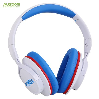 AUSDOM AH861 Headband Bluetooth Wired and Wireless Headphones with Mic