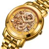 BOS 9007G Dragon Decoration Male Automatic Mechanical Watch for sale