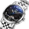 best BOS 9002G Multi-function Male Automatic Mechanical Watch