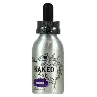 Naked fish wahoo fruit cereal vanilla cream flavor e for Naked fish e juice