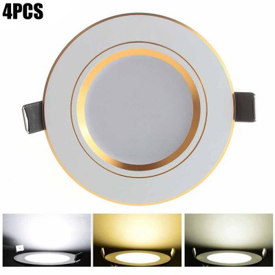 4 x Zweihnder 5W 450Lm SMD 5730 Dimming LED Ceiling Light