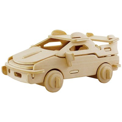 Robotime Car 3D Jigsaw Puzzle Woodcraft Assemble Toy Educational Game Kids Gift