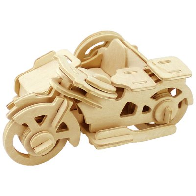 Robotime Motorcycle 3D Jigsaw Puzzle Woodcraft Assemble Toy Educational Game Kids GiftModel &amp; Building Toys<br>Robotime Motorcycle 3D Jigsaw Puzzle Woodcraft Assemble Toy Educational Game Kids Gift<br><br>Type: 3D Puzzle<br>Theme: Military<br>Materials: Wood<br>Gender: Unisex<br>Style: Military<br>Stem From: Other<br>Package weight: 0.050 kg<br>Package size: 23.00 x 18.50 x 1.00 cm / 9.06 x 7.28 x 0.39 inches<br>Package Contents: 1 x Assemble Sheet, 1 x English User Manual