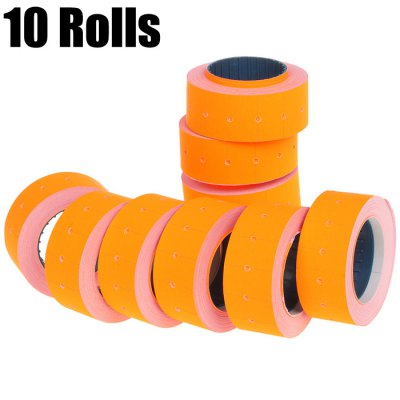 10 Rolls Paper Price Label Tagging Guns Accessory
