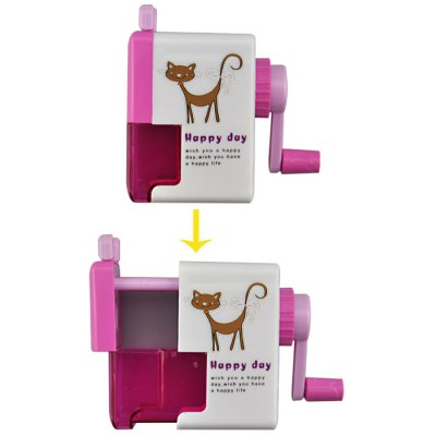 Angibabe abcd321 Plastic Pencil Sharpener