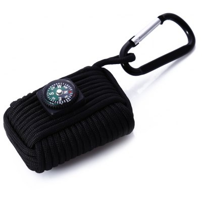 Paracord Survival Fishing Kit with Compass