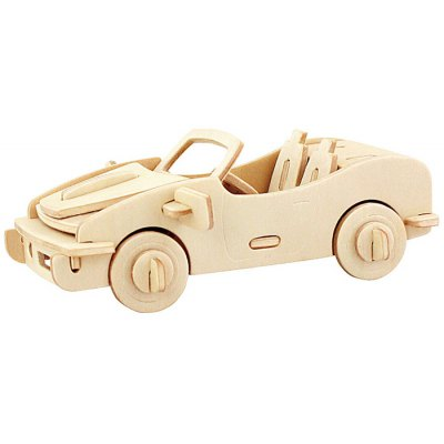 Robotime Cabriolet 3D Jigsaw Puzzle Woodcraft Assemble Toy Educational Game Kids Gift