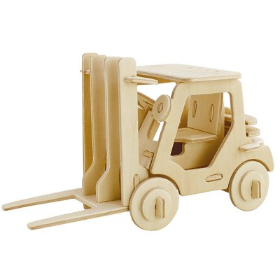 Robotime Forklift 3D Jigsaw Puzzle Woodcraft Assemble Toy Educational Game Kids Gift