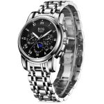 BOS 9011 Multi-function Male Automatic Mechanical Watch