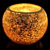 European Mosaic Glass Style Candle Holder Candlestick Decors