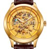 BOS 9008G Hollow-out Dial Male Automatic Mechanical Watch photo
