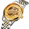 BOS 9013 Hollow-out Dial Male Automatic Mechanical Watch for sale
