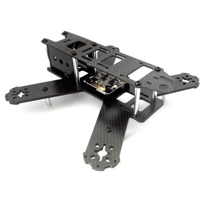 Extra Spare 3E MODEL QAV210 Pure Carbon Fiber Frame Kit Fitting for MultirotorMulti Rotor Parts<br>Extra Spare 3E MODEL QAV210 Pure Carbon Fiber Frame Kit Fitting for Multirotor<br><br>Type: Frame Kit<br>Product weight: 0.090 kg<br>Package weight: 0.250 kg<br>Package size (L x W x H): 22.00 x 12.00 x 15.00 cm / 8.66 x 4.72 x 5.91 inches<br>Package Contents: 1 x QAV210 Frame Kit