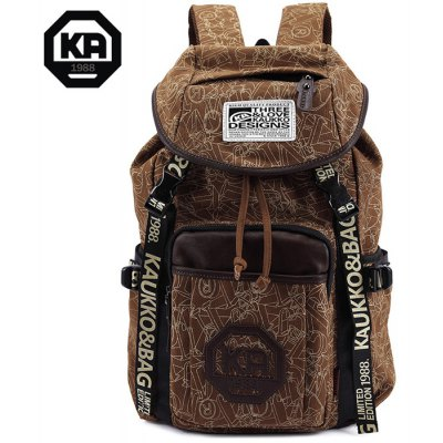 kaukko-19l-student-traveling-backpack-thick-canvas-made