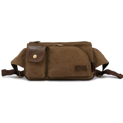 KAUKKO 0.4L Male Waist Bag Brand Zipper HeadWaistpacks<br>KAUKKO 0.4L Male Waist Bag Brand Zipper Head<br><br>Brand: KAUKKO<br>For: Camping,Casual,Cycling,Exercise and Fitness,Hiking,Mountaineering,Travel<br>Material: Canvas<br>Capacity: 1 - 10L<br>Color: Khaki<br>Product weight: 0.270 kg<br>Package weight: 0.320 kg<br>Product size (L x W x H): 28.00 x 15.00 x 1.00 cm / 11.02 x 5.91 x 0.39 inches<br>Package size (L x W x H): 29.00 x 16.00 x 1.50 cm / 11.42 x 6.30 x 0.59 inches<br>Package Contents: 1 x KAUKKO 0.4L Male Waist Bag