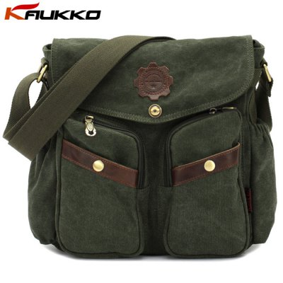 KAUKKO 6L Unisex Casual Single-shoulder Bag
