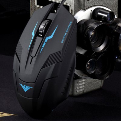 RAJFOO I5 Wired USB Gaming MouseMouse<br>RAJFOO I5 Wired USB Gaming Mouse<br><br>Model: I5<br>Material: ABS<br>Interface: USB 2.0<br>Resolution: 1200DPI,1600DPI,2400DPI,800DPI<br>Powered by: USB Power<br>Supports System : MAC OS X,Win 2000,Win 2008,Win vista,Win XP,Win7 32,Win7 64,Win8 32,Win8 64<br>Suitable for: HTPC,PC<br>Cable Length (m): 1.6m<br>Color: Black<br>Product weight: 0.120 kg<br>Package weight: 0.218 kg<br>Product size: 12.50 x 7.50 x 4.00 cm / 4.92 x 2.95 x 1.57 inches<br>Package size: 18.00 x 9.00 x 5.50 cm / 7.09 x 3.54 x 2.17 inches<br>Package Contents: 1 x RAJFOO I5 Wired USB Gaming Mouse