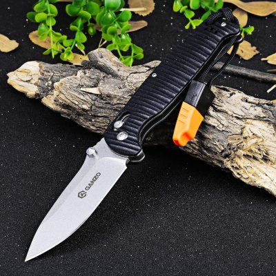Ganzo G7412P-BK-WS Axis Lock Pocket Knife