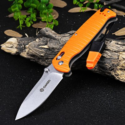 Ganzo G7412P-OR-WS Axis Lock Pocket Knife