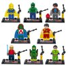 cheap Dargo Super Hero Mini Figure Assemble Puzzle Toy Intelligent Gift