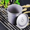 Keith Ti3205 500mL Titanium Cup with Cover