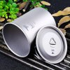 Keith Ti3204 450mL Titanium Cup with Cover deal