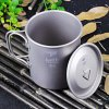Keith KS810 450mL Titanium Cup with Cover