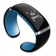 Trendy Style L12S OLED Bluetooth Bracelet Watch with Call ID Display / Answer / Dial / SMS Sync / Music Player / Anti-lost Function for Samsung / HTC + More