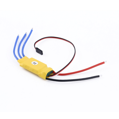 Durable 30A Electronic Brushless Motor Speed Controller ESCESC<br>Durable 30A Electronic Brushless Motor Speed Controller ESC<br><br>Package Contents: 1 x Brushless Motor Speed Controller<br>Package size (L x W x H): 13.00 x 7.00 x 2.00 cm / 5.12 x 2.76 x 0.79 inches<br>Package weight: 0.050 kg<br>Type: ESC