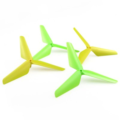 ФОТО 4Pcs CW + CCW Three-blade Propeller Fitting for Syma X5C / X5SC / X5SW RC Quadcopter Accessary