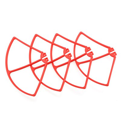 ФОТО 4Pcs Propeller Protector Fitting for Syma X8C / X8W / X8G RC Quadcopter Accessary