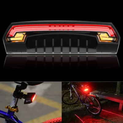 Meilan X5 80LM 2000mAh Bicycle Laser Tail Light