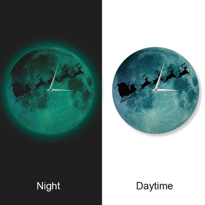 Moon Glow Luminous Wall Clock Decorative StickerClocks<br>Moon Glow Luminous Wall Clock Decorative Sticker<br><br>Type: Wall Clock<br>Style: Contemporary,Modern<br>Time Display: Analog<br>Material: Acrylic<br>Product weight: 0.500 kg<br>Package weight: 0.730 kg<br>Product size (L x W x H): 30.00 x 1.50 x 30.00 cm / 11.81 x 0.59 x 11.81 inches<br>Package size (L x W x H): 35.00 x 8.00 x 35.00 cm / 13.78 x 3.15 x 13.78 inches<br>Package Contents: 1 x Clock, 1 x Packing of DIY Accessory, 1 x English User Manual
