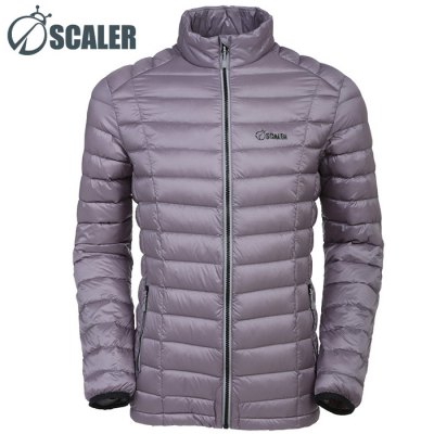 SCALER Male Ultralight Down Jacket 700 Filling Power - SCALEROutdoor Jackets<br>SCALER Male Ultralight Down Jacket 700 Filling Power<br><br>Brand: SCALER<br>Gender: Men<br>Activity: Camping and Hiking,Climbing,Cycling,Fishing,Outdoor Lifestyle,Snowboarding<br>Season: Winter<br>Size: L,M,XL,XXL,XXXL<br>Color: Army green,Black,Blue,Light Gray<br>Features: Keep Warm,Windproof<br>Product weight: 0.320KG<br>Package weight: 0.370 KG<br>Package size: 38.00 x 35.00 x 5.00 cm / 14.96 x 13.78 x 1.97 inches<br>Package Content: 1 x SCALER Male Ultralight Down Jacket
