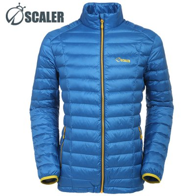 SCALER Male Ultralight Down Jacket 700 Filling PowerOutdoor Jackets<br>SCALER Male Ultralight Down Jacket 700 Filling Power<br><br>Brand: SCALER<br>Gender: Men<br>Activity: Camping and Hiking,Climbing,Cycling,Fishing,Outdoor Lifestyle,Snowboarding<br>Season: Winter<br>Size: L,M,XL,XXL,XXXL<br>Color: Army green,Black,Blue,Light Gray<br>Features: Keep Warm,Windproof<br>Product weight: 0.320KG<br>Package weight: 0.370 KG<br>Package size: 38.00 x 35.00 x 5.00 cm / 14.96 x 13.78 x 1.97 inches<br>Package Content: 1 x SCALER Male Ultralight Down Jacket
