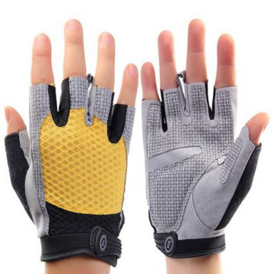 Unisex Exercising Gloves Velcro Wrist DesignSports Protective Gear<br>Unisex Exercising Gloves Velcro Wrist Design<br><br>Color: Black,Blue,Pink,Red,Yellow<br>Target User: Unisex<br>Product weight: 0.100KG<br>Package weight: 0.150 KG<br>Package size: 20.00 x 16.00 x 3.00 cm / 7.87 x 6.3 x 1.18 inches<br>Package Content: 1 x Pair of Unisex Exercising Gloves