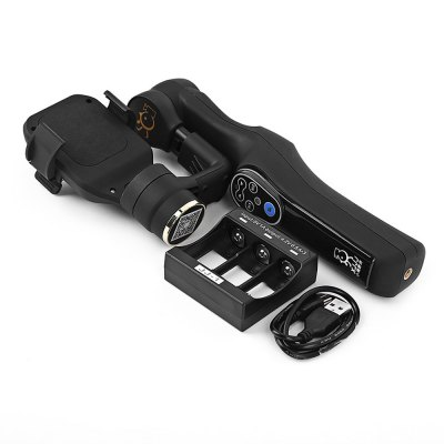 XJJJ JJ - 1 2 Axis Handheld Phone Gimbal Brushless Camera Stabilizer Accessory for PhotographyFPV System<br>XJJJ JJ - 1 2 Axis Handheld Phone Gimbal Brushless Camera Stabilizer Accessory for Photography<br><br>Type: Gimbal<br>Package weight: 0.890 kg<br>Package size (L x W x H): 28.00 x 7.00 x 17.00 cm / 11.02 x 2.76 x 6.69 inches<br>Package Contents: 1 x JJ-1 Handheld Gimbal, 3 x 18350 Battery, 1 x USB Charging Cable, 1 x Battery Charger, 1 x User Manual