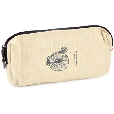 Retro Bike Shape Pencil / Glasses Pouch