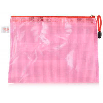 CS-334 Mesh Shape Document Zipper Bag