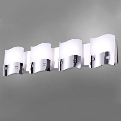 Odemlighting Modern Wave LED Mirror Wall LightWall Lights<br>Odemlighting Modern Wave LED Mirror Wall Light<br><br>Brand: Odemlighting<br>Type: Wall Light<br>Shade Material: Acrylic,Stainless Steel<br>Bulb Included: Yes<br>Quantity of Spots: 1,3,4<br>CCT/Wavelength: 3000K,6000K<br>Input Voltage: AC 220V<br>Light Color: Warm White,White<br>Product weight: 0.300 kg<br>Package weight: 0.500 kg<br>Product size (L x W x H): 13.00 x 10.00 x 8.00 cm / 5.12 x 3.94 x 3.15 inches<br>Package size (L x W x H): 25.00 x 25.00 x 15.00 cm / 9.84 x 9.84 x 5.91 inches<br>Package Contents: 1 x LED Wall Light