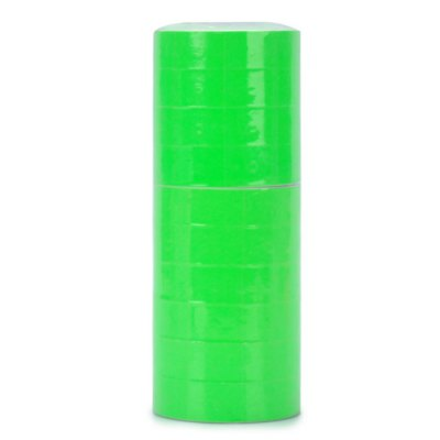 10 Rolls Paper Price Label Rolls Tagging Guns AccessoryOther Supplies<br>10 Rolls Paper Price Label Rolls Tagging Guns Accessory<br><br>Material: Paper<br>Color: Green<br>Product weight: 0.320 kg<br>Package weight: 0.337 kg<br>Product size (L x W x H): 6.40 x 6.40 x 1.60 cm / 2.52 x 2.52 x 0.63 inches<br>Package size (L x W x H): 7.00 x 7.00 x 18.00 cm / 2.76 x 2.76 x 7.09 inches<br>Package Contents: 10 x Paper Price Marking Label Roll