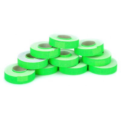 10 Rolls Paper Price Label Rolls Tagging Guns Accessory