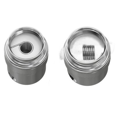 Original Joyetech BF RBA Replacement Coil HeadAccessories<br>Original Joyetech BF RBA Replacement Coil Head<br><br>Accessories type: Heater Core and Coils<br>Available Color: Silver<br>Brand: Joyetech<br>Material: Stainless Steel<br>Package Contents: 1 x BF RBA Head with Vertical Coil ( 0.5ohm ), 1 x Horizontal Coil ( 0.5ohm), 1 x Extended Vent Pipe, 2 x Vent Pipe Silicon Ring, 1 x Cotton, 1 x Spare Screw, 1 x Screwdriver, 1 x English User Manual<br>Package size (L x W x H): 2.00 x 2.00 x 5.50 cm / 0.79 x 0.79 x 2.17 inches<br>Package weight: 0.065 kg<br>Product size (L x W x H): 1.65 x 1.20 x 1.20 cm / 0.65 x 0.47 x 0.47 inches<br>Product weight: 0.020 kg<br>Resistance : 0.5ohm<br>Type: Electronic Cigarettes Accessories