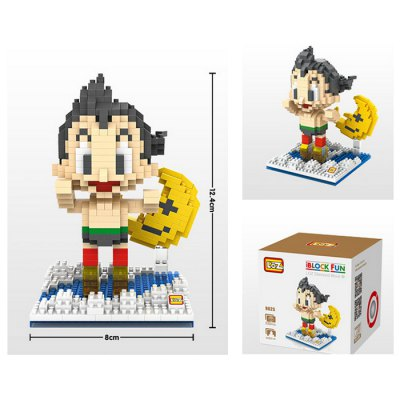 LOZ 9625 Astro Boy Block Excellent Decor Educational Gift for Kids 530Pcs / SetBlock Toys<br>LOZ 9625 Astro Boy Block Excellent Decor Educational Gift for Kids 530Pcs / Set<br><br>Brand: LOZ<br>Completeness: Semi-finished Product<br>Gender: Unisex<br>Materials: ABS<br>Package Contents: 530 x Block<br>Package size: 9.50 x 9.50 x 9.50 cm / 3.74 x 3.74 x 3.74 inches<br>Package weight: 0.150 kg<br>Stem From: Japan<br>Theme: Movie and TV