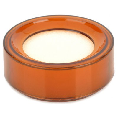 Round Style Case with Finger Wet Sponge