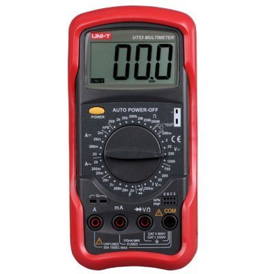 UNI-T UT53 LCD Digital Multimeter