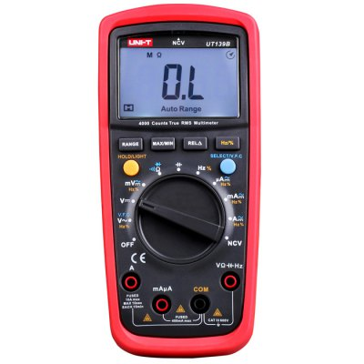 ФОТО UNI-T UT139B LCD Digital Multimeter