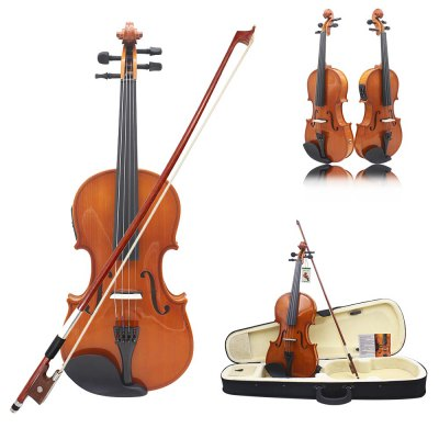 ASTONVILLA Electric Violin 4 / 4 Popular Instrument with Other Spare Part